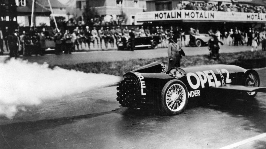 Il y 90 ans, Opel testait avec succès son véhicule-fusée