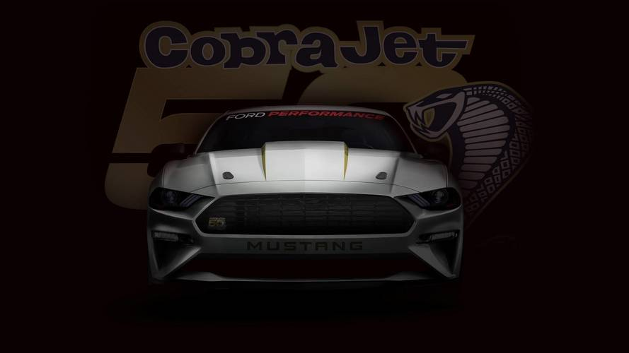 2018 Ford Mustang Cobra Jet Ready To Dominate The Drag Strip