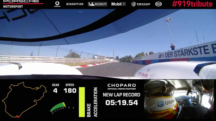 Watch The Porsche 919 Set Nürburgring Record From Driver's View