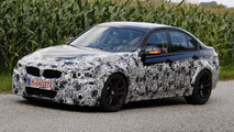 2014 BMW M3 F30 sedan spied testing on public roads
