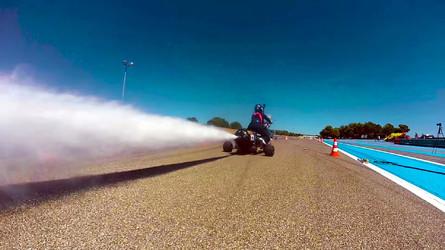 VIDÉO - Cet engin effectue le 0-100 km/h en 0,5 seconde !