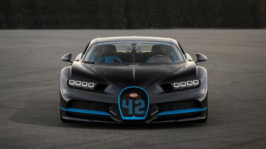 Juan Pablo Montoya ve Bugatti Chiron