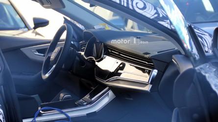 2019 Audi Q8 iç mekânına bir göz atın