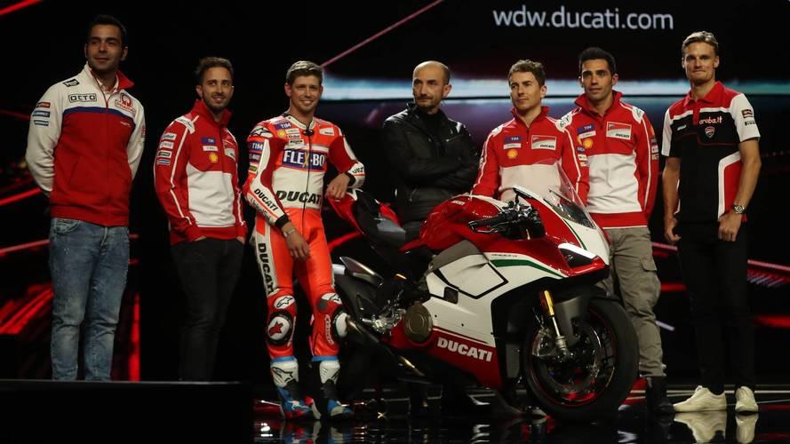 Ducati nuevos modelos 2018 EICMA 2017 Milán
