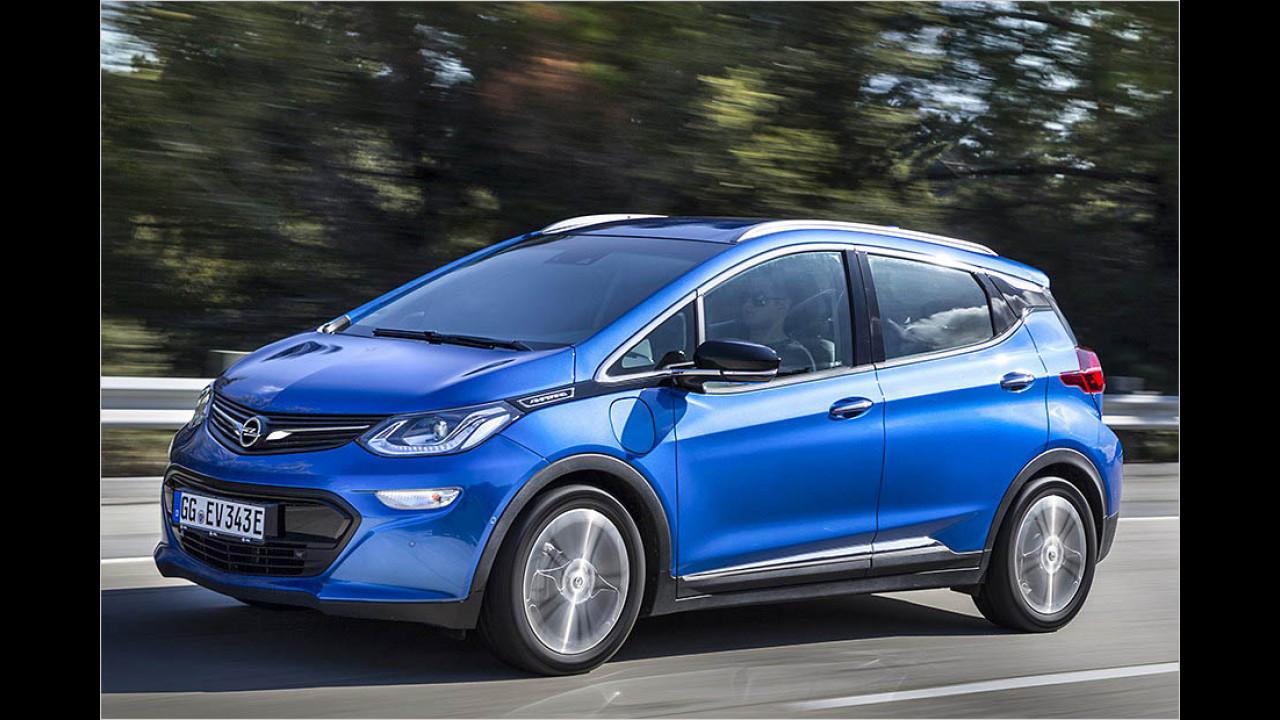 Opel Ampera-e: 520 km