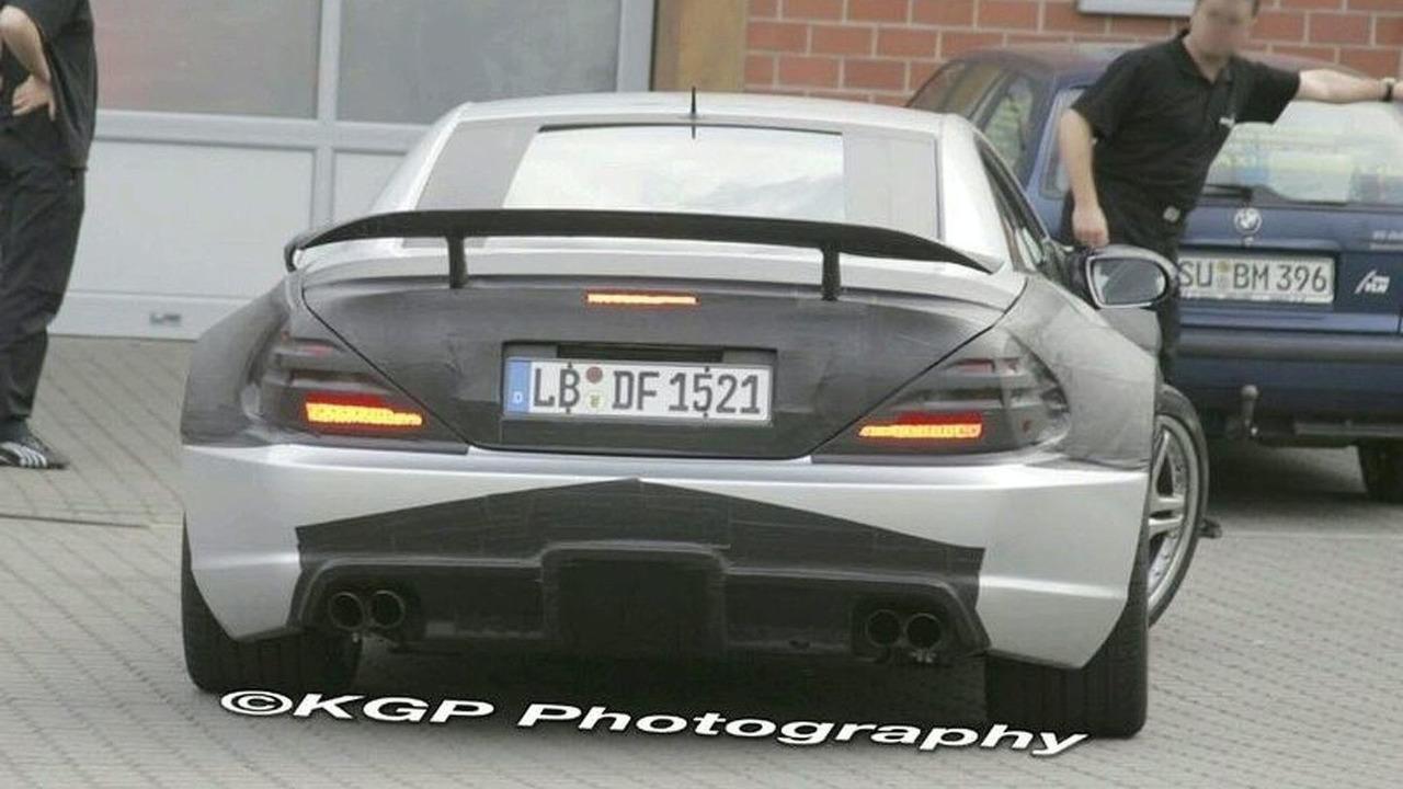 Mercedes SL 65 AMG Black Series spy photo