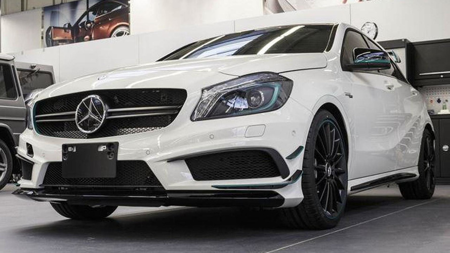 2014 Mercedes-Benz A45 AMG PETRONAS Green Edition launched in Japan [video]