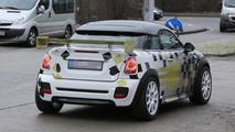 2014 MINI E Race Coupe spy photo