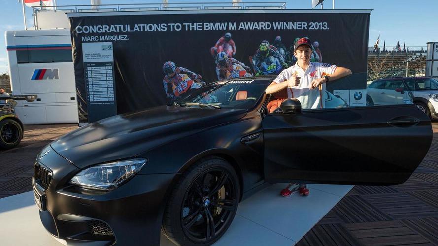 Top MotoGP Qualifier Marc Marquez Wins BMW M CS - 2013 bmw m4