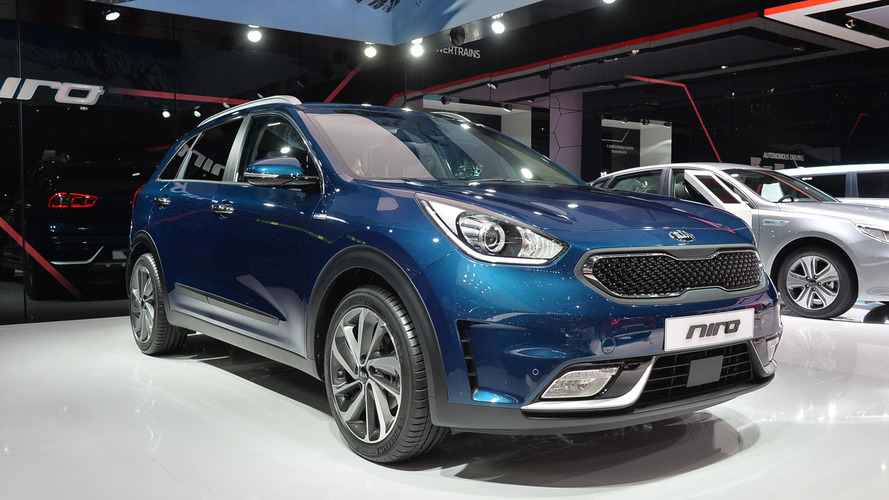 Kia Niro visits Geneva for Euro debut