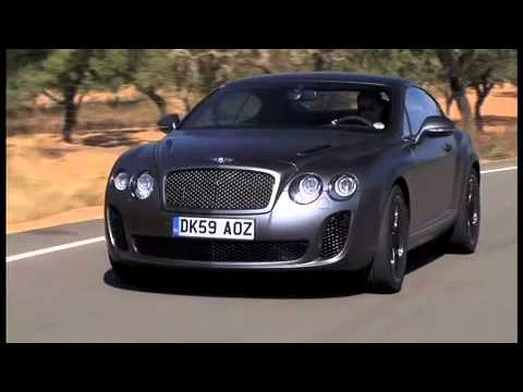 2011 Bentley Continental Supersports Coupe Video 1