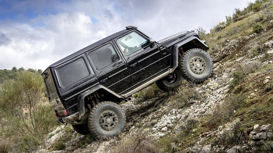 Mercedes-Benz G500 4x4² priced from €226,100