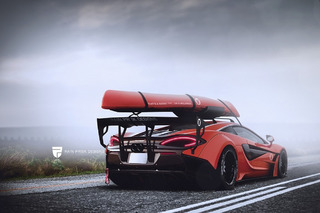 The McLaren 570S Kayak Rack You've Always Wanted