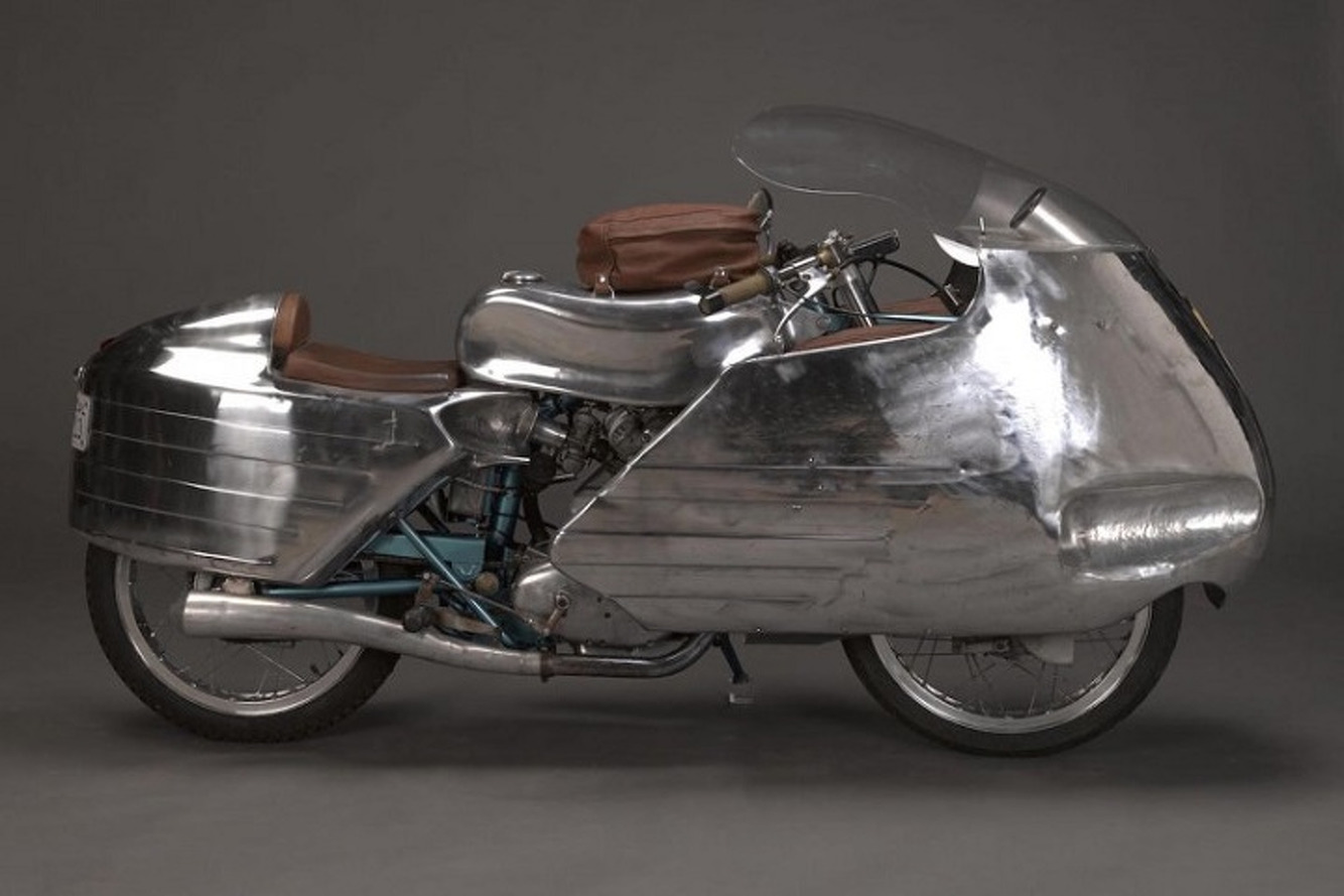 Beautiful Ducati Dustinbin Special Heading For Auction