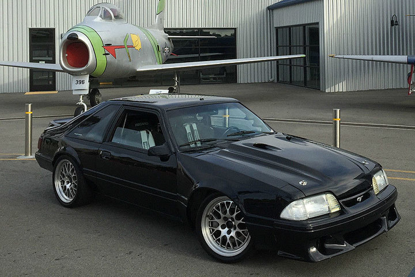 This 1990 Ford Mustang Has a Taste for the Track