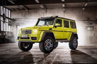 Mercedes is Bringing the Epic G550 4x4² to the U.S. in 2017