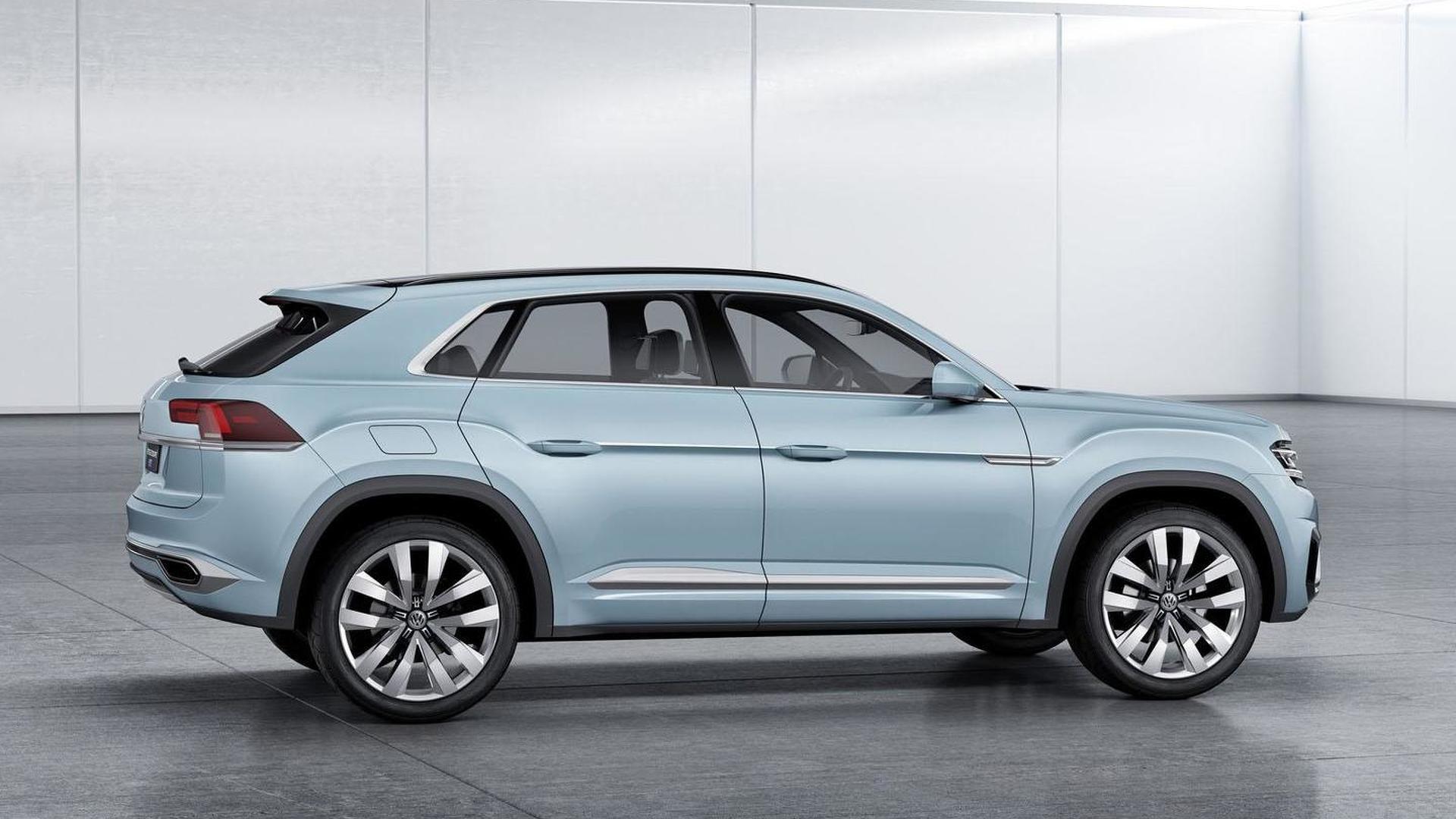 Новый кроссовер Volkswagen Cross Coupe GTE