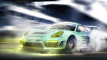 Porsche Cayman GT4R render