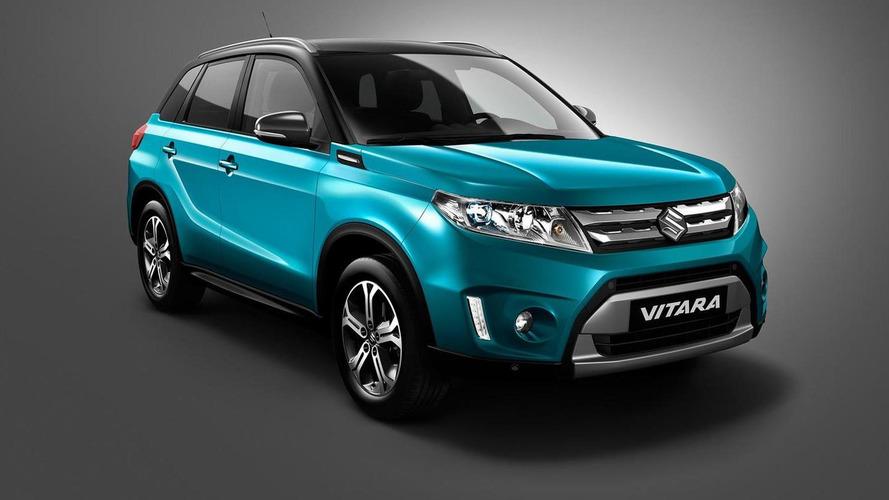 2015 Suzuki Vitara first official image released ahead of Paris debut