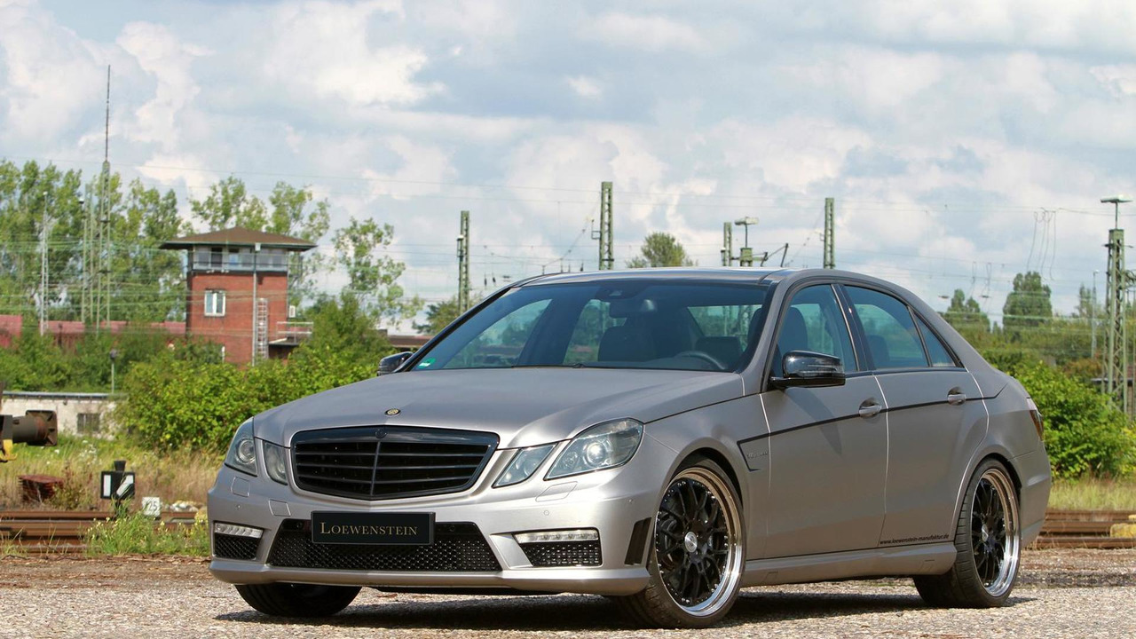 Mercedes-Benz E63 AMG pre-facelift by Loewenstein