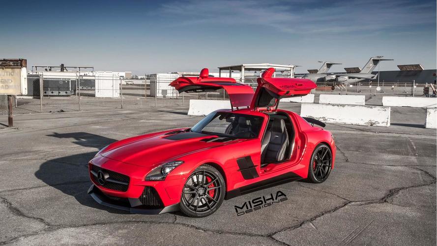 Mercedes-Benz SLS AMG gets new body kit from Misha Designs