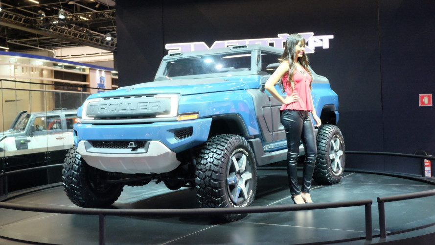 Brazil's Troller T4 Xtreme concept envisions possible future Bronco
