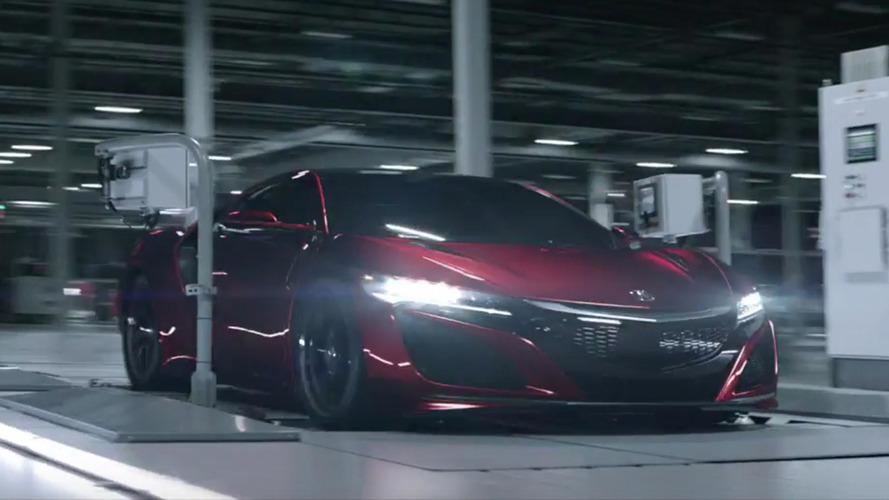 Acura, 2017 NSX sahiplerine çok özel şeyler verecek