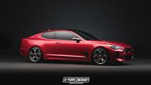 Kia Stinger Coupe tasarım çalışması
