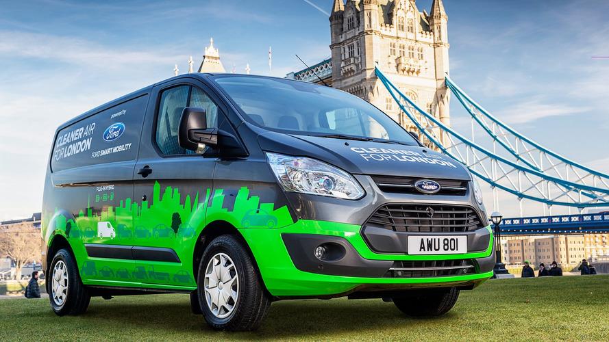Le Ford Transit se convertit à l'hybride pour la ville de Londres
