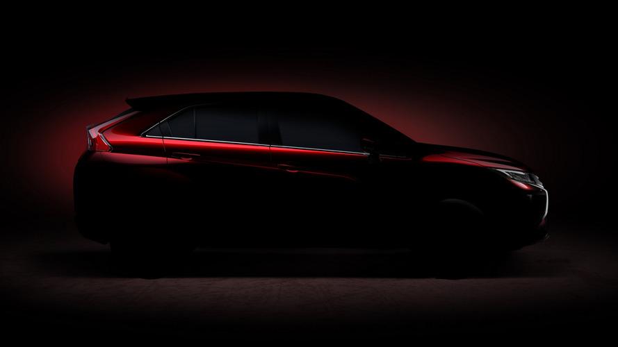 Teaser do novo crossover da Mitsubishi