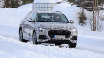Audi Q8 photos espion