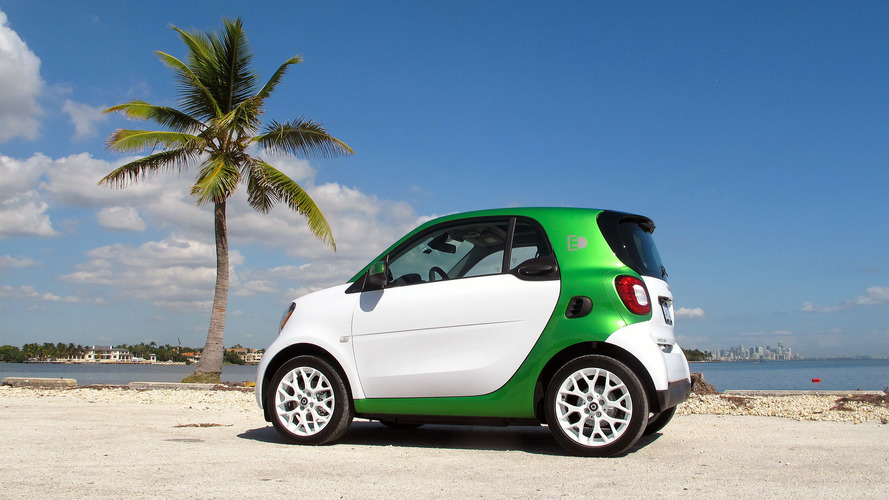 New All-Electric Smart ForTwo Starts At $16,300, After Incentives