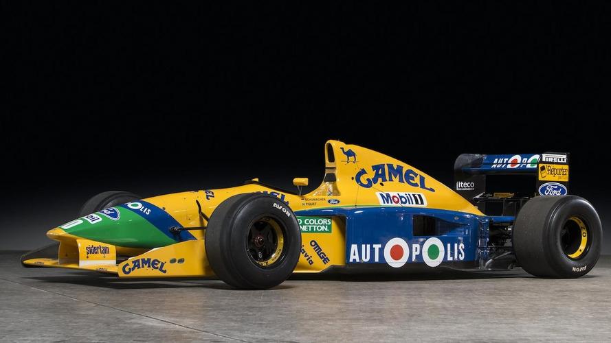 Benetton F Car For Sale