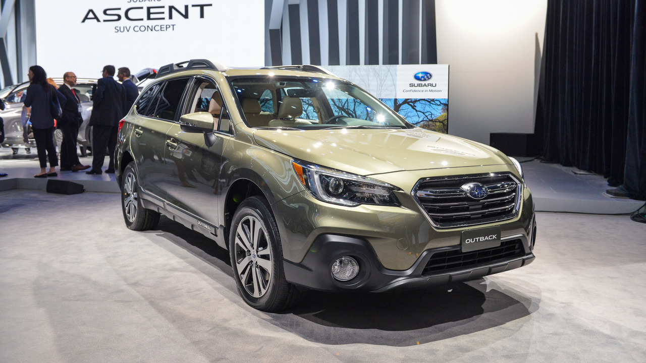 2018 Subaru Outback Brings Well Thought Out Facelift To New York