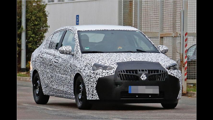 Fährt hier der neue Opel Corsa?
