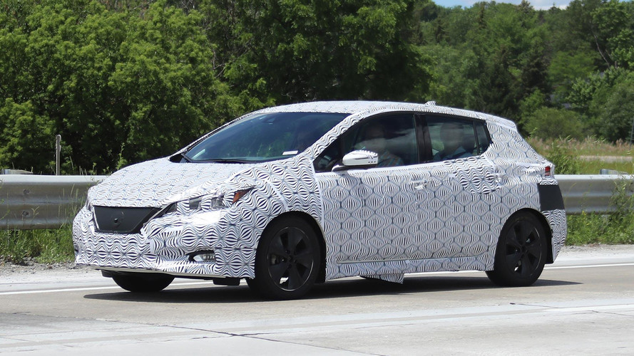 New 2018 Nissan LEAF Spyshots: Interior And Exterior Revealed