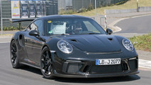 2018 Porsche 911 GT3 RS new spy photos from the Nurburgring