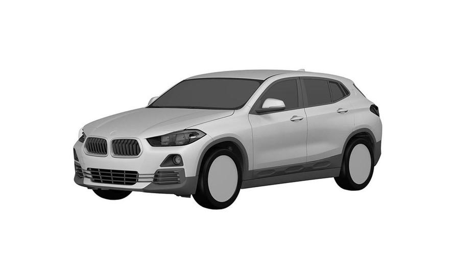 Primeras fotos del BMW X2 2018, directas de la oficina de patentes