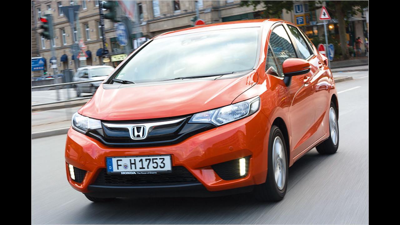 Für Transportfragen: Honda Jazz