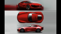 Alfa Romeo Giulia Concept by Vincent Montreuil