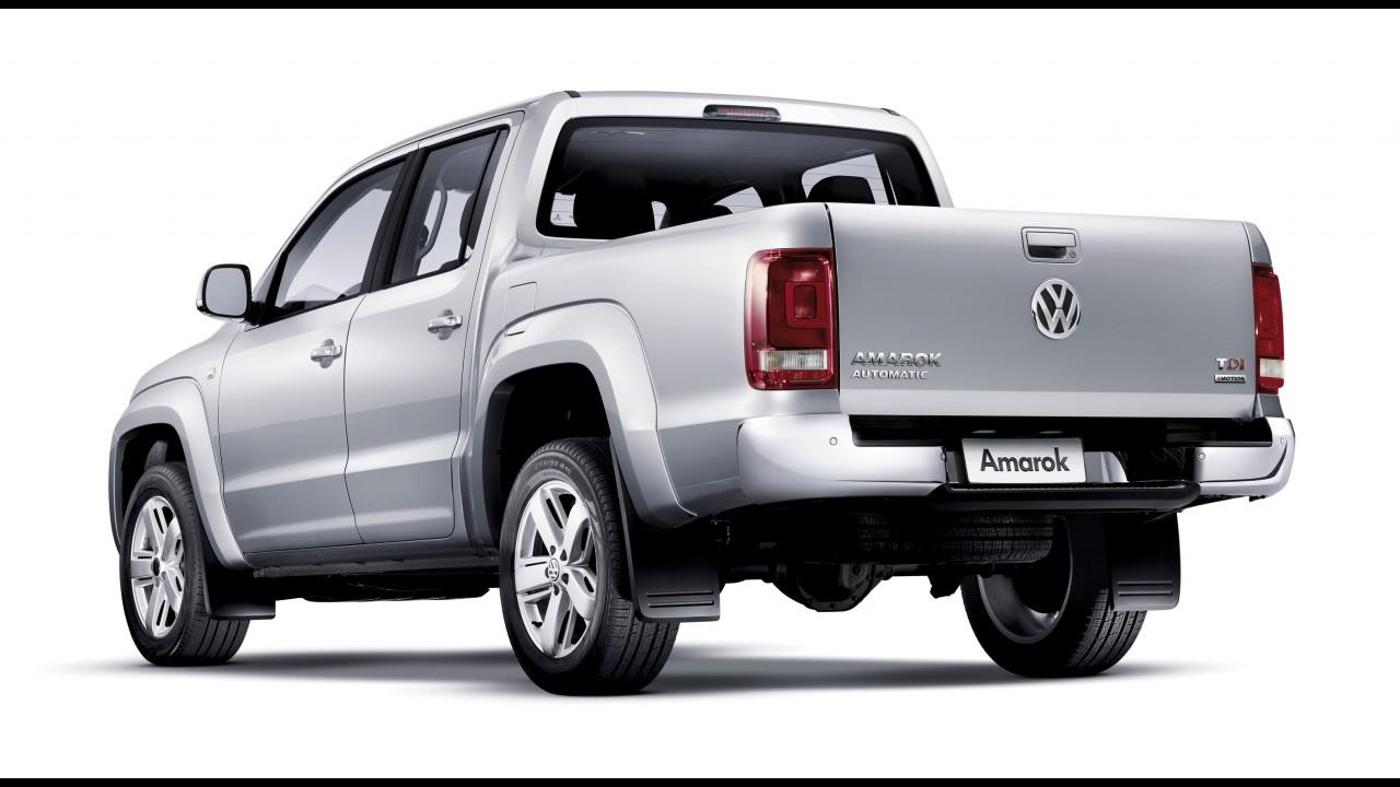 Volkswagen Amarok chega à linha 2014 com mais itens de segurança de série