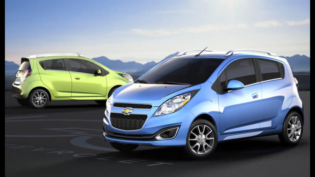 Chevrolet Spark também será vendido nos EUA e Canadá com mudanças visuais