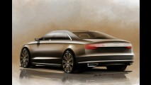 Audi A8 reestilizado estreará em Frankfurt; confira sketches