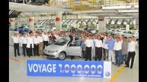 Voyage atinge a marca de 1 milhão de unidades produzidas no Brasil
