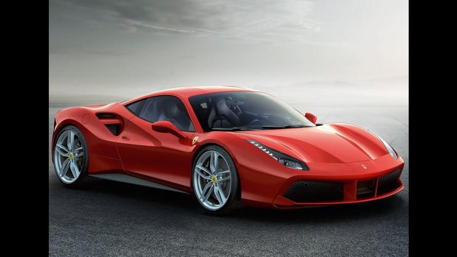 Ferrari 488 GTB sucede 458 com motor V8 turbo de 670 cv