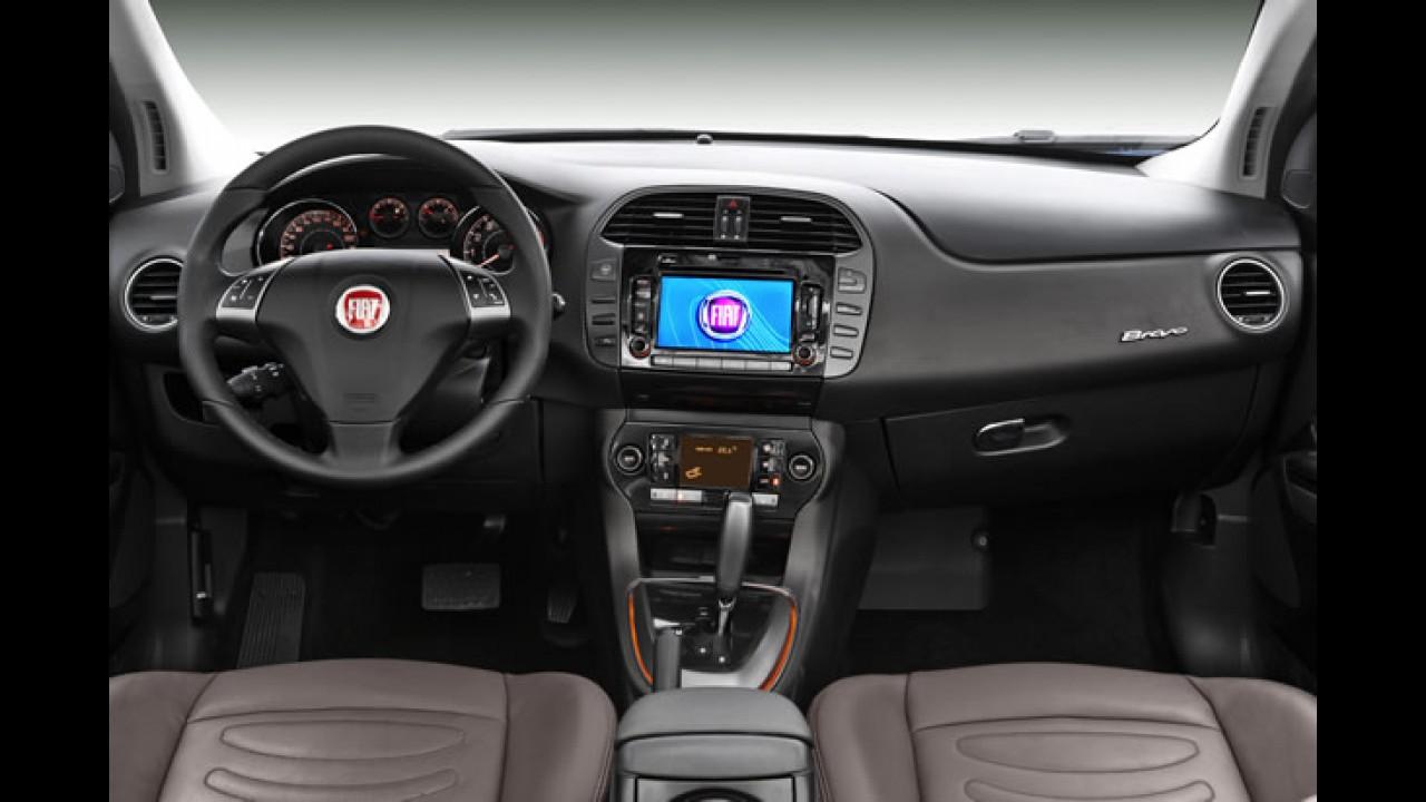 Linha 2013: Fiat Bravo ganhará mais equipamentos e modificações no câmbio Dualogic