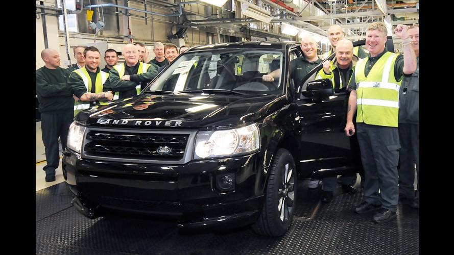 Land Rover Freelander alcança 300 mil unidades produzidas - Modelo especial virá para o Brasil
