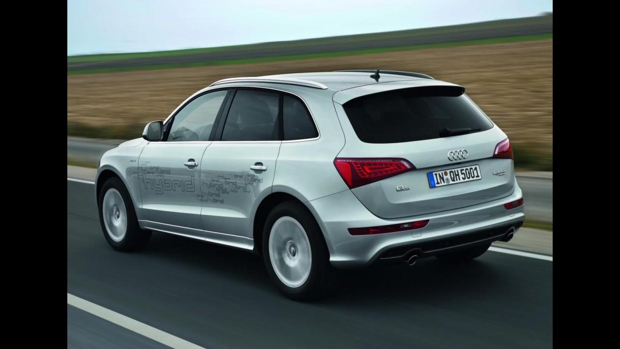 Audi revela o Q5 Hybrid quattro 2012 - Consumo é de 14,2 km/litro