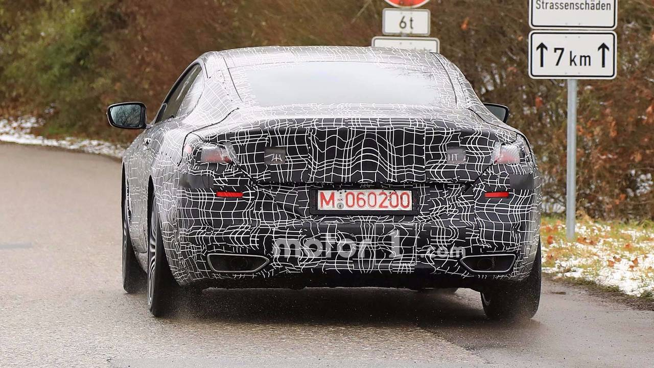 2019 BMW 8 Series Spy Photo