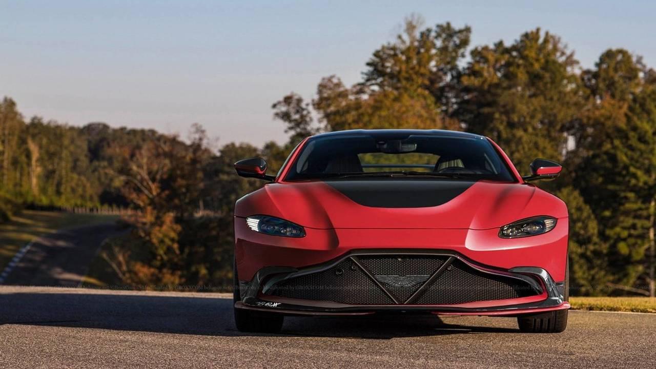 Aston Martin Vantage GT8 render